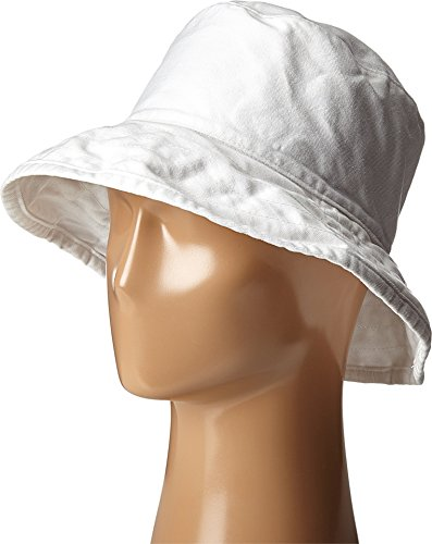 Hat Attack Women's Washed Cotton Crusher White One Size ()