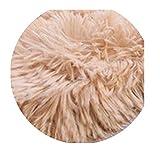 Soft Shaggy Carpet for Living Room,Light Camel,40x60cm