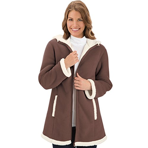 Womens Fleece Sherpa Machine Washable
