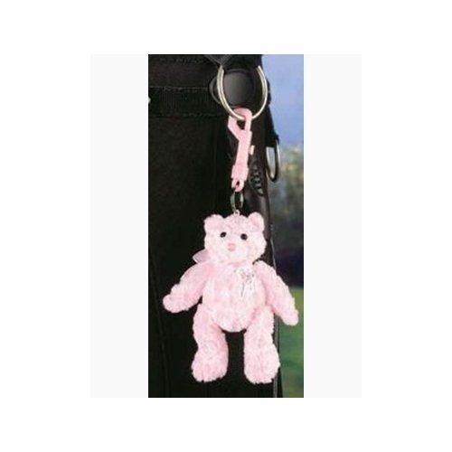 Gund Pink Ribbon Bear Clip On ()