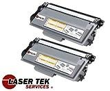 Laser Tek Services ® 2 Pack Super High Yield TN780 TN-780 (Jumbo XXL) Toner Cartridge for the HL-6180DW, HL-6180DWT, MFC-8950DW, MFC-8950DWT, Office Central