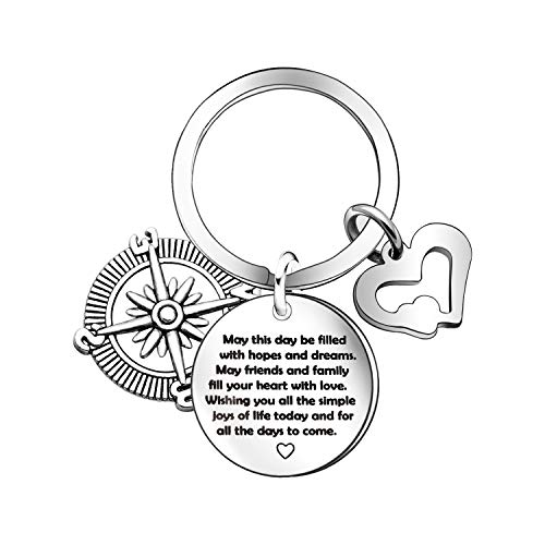 16th Birthday Gifts for Girls Boys Keychain Sweet 16th Happy birthday Keyring (16th) (Falling In Love In A Dream Meaning)