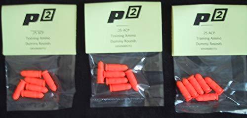 P2 P-Squared Brand .25 ACP SNAP CAPS Training Ammo Bullets Shells Practice Safe 25Cal -6 Pak (Best 25 Acp Ammo)