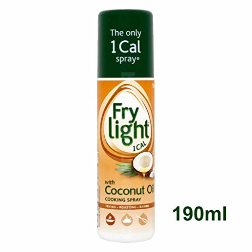 Fry Light Coconut Oil Cooking Spray 190ml - 1 Cal. per Spray!