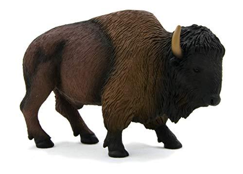 Buffalo Figurine - MOJO 387024 Toy Figure, Mixed