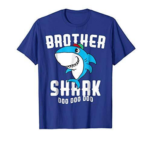 Brother Shark T Shirt Boy Men Birthday Halloween Christmas for $<!--$14.99-->