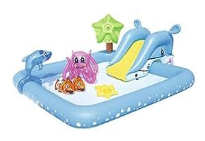 Bestway piscina hinchable 53052 juguetes y - Amazon piscinas hinchables ...