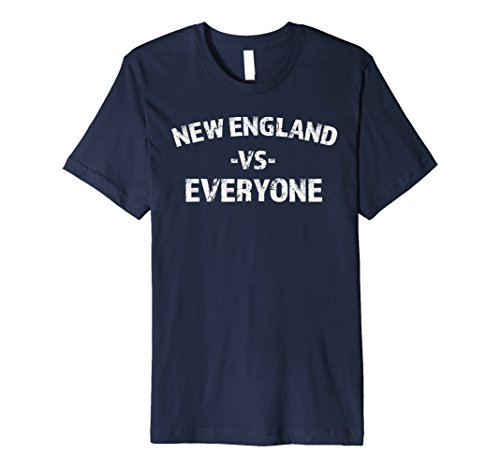 New England vs Everyone Trending Distressed - Fashion New Trending