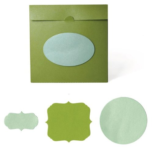 QUICKUTZ Lifestyle Crafts Disc Envelope Cookie Cutter Die