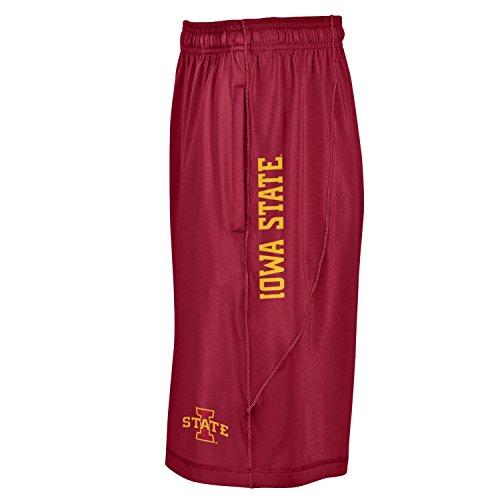 Iowa State Mens Shorts - Under Armour NCAA Iowa State Cyclones Men's Raid Shorts, Large, Crimson