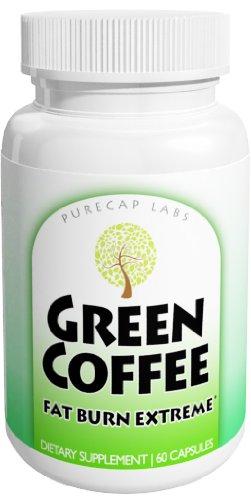 Extrait de café vert 90 capsules, 100% Pure Premium, plus de haute qualité de café vert non torréfié