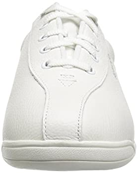 Easy Spirit Ap1 Sport Walking Shoe, White Leather, 5 M 3