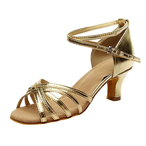 Pink-star Women's Fashion Luxury High Heels Rumba Waltz Prom Ballroom Latin Salsa Dance Shoes Ladies -
