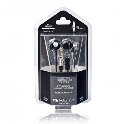 Nakamichi T8000 Earbuds Earphones Black