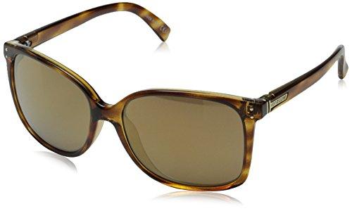Veezee - Dba Von Zipper Castaway Round Sunglasses, Tortoise Gloss, 58 - Womens Von Sunglasses Zipper