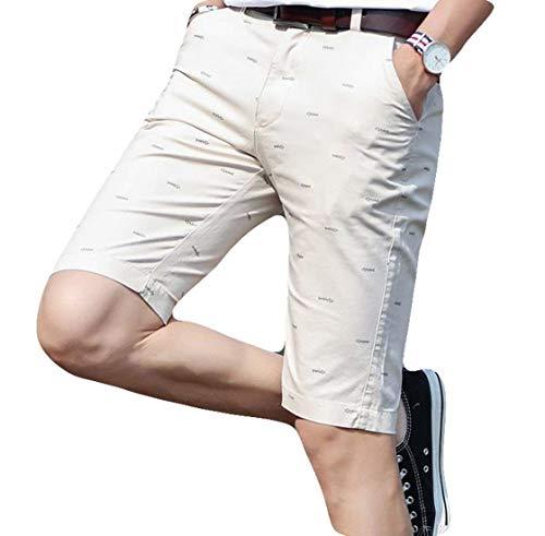 A 2018 Beige Pantaloni Abbigliamento Uomo Cargo Corti Traspiranti Casual Festivo Estate Medi Pantaloncini Lannister adwpZa