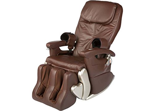 Human Touch HT-5320 WholeBody Massage Chair Recliner Robotic Massage Lounger with Calf Foot Massage - Dark Chocolate - In-Home Delivery