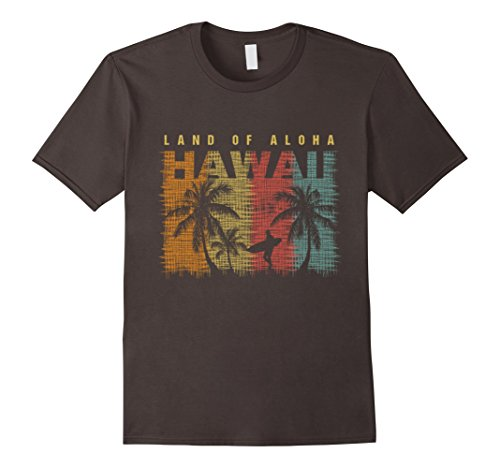 Mens Vintage Hawaiian Islands Tee Hawaii Aloha State T Shirt Xl Asphalt