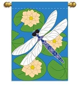Garden Size Flag, Dragonfly