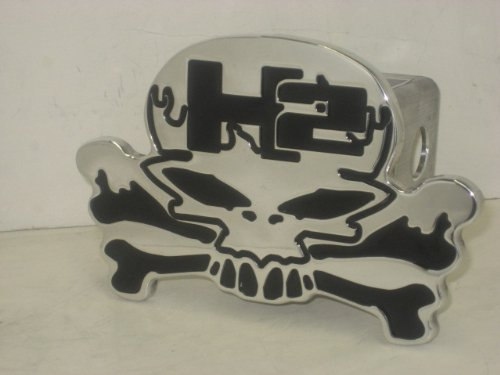 Skull H2,hummer Hitch Cover