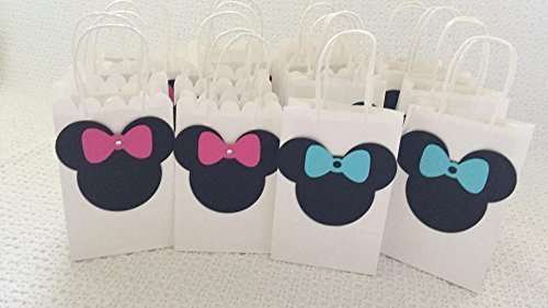 HANDMADE Mickey Or Minnie Mouse Goodie Bags