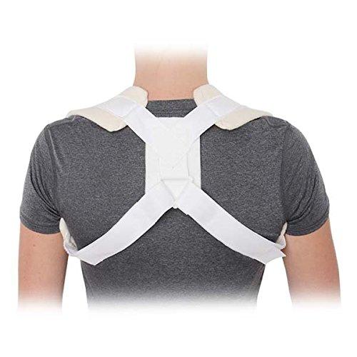 Premium Clavicle Brace Support Straps / Posture Brace and Posture Corrector - Shoulder Brace / Support - Medium