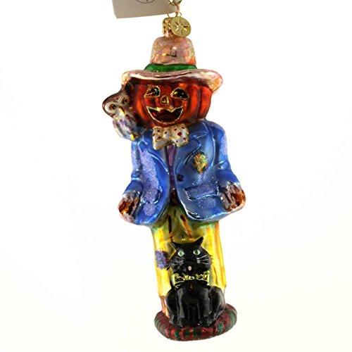 Christopher Radko HOOT HOLLER & HOWL Glass Halloween ()