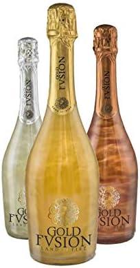 Pack Vino espumoso tres botellas (Fortune, Glaciar y Vulcano)- ideal Día del Padre, cumpleaños, carnaval, Halloween, fiesta, celebración, boda, brindis