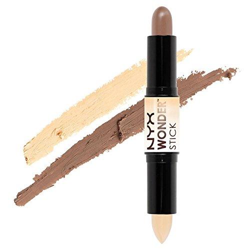 00b01f153f6 Amazon.com : NYX Wonder Stick Highlight & Contour WS01 Light / Medium :  Beauty