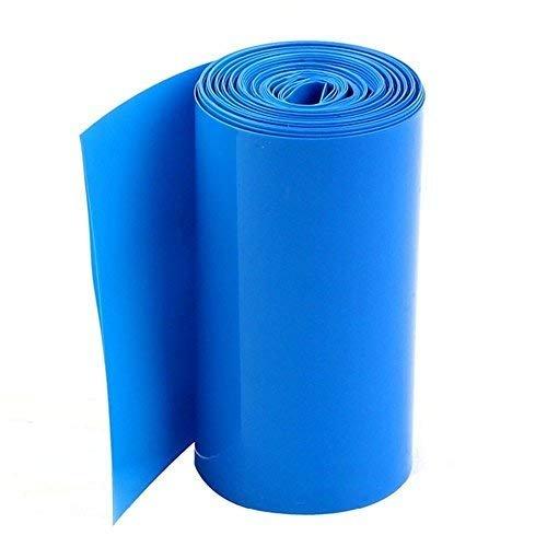 lithium battery PVC Heat Shrinkable tube width 220mm heat shrinkable film Blue QWZ3