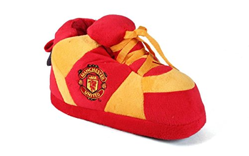 Manchester United Shoes - MAU01-3 Manchester United - Large - Happy Feet Mens and Womens Slippers
