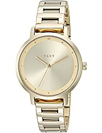 Women's 'The Modernist' Quartz Stainless Steel Casual Watch, Color Gold-Toned (Model: NY2636)