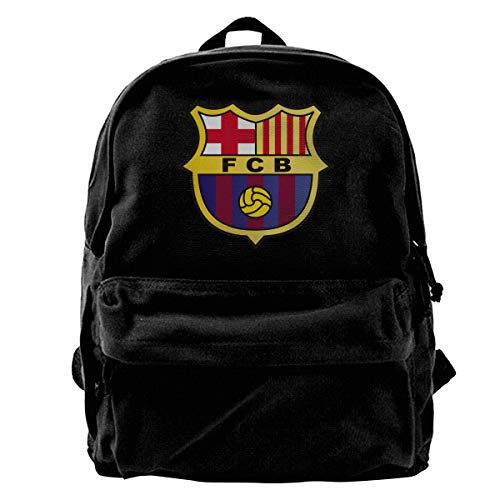 OKWLM U Adjustable Strap Backpack,Fc Barcelona Laptop Bags,for Outdoors,Workout,Traveling,Casual,Running,Hiking,Cycling -