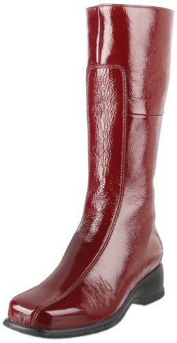 La Canadienne Womens Blanche Boot Cherry Patent