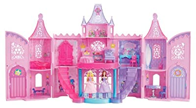 Barbie The Princess And The Popstar Musical Light Up Castle Playset by Mattel