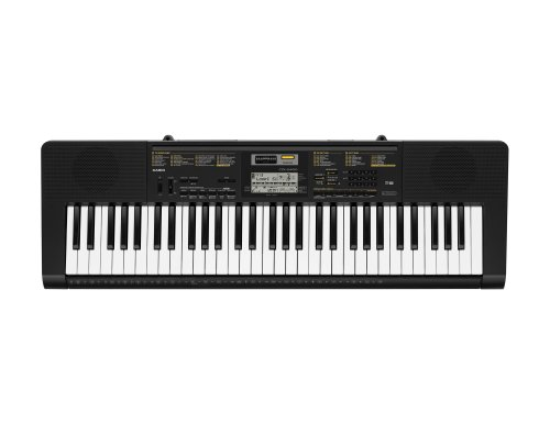 Casio CTK2400 61- Key Portable Keyboard with USB - Weighted Keys Piano
