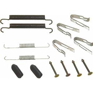 Wagner H17544 Parking Brake Hardware Kit Rear