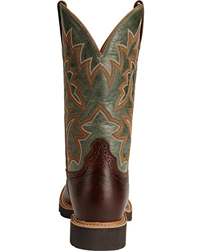 Twisted X Men's Pullon Work Boot Round Toe Cognac 9.5 D(M) US by Twisted X (Image #3)
