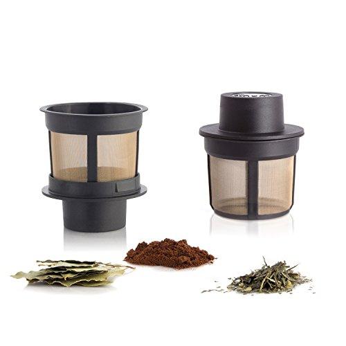 (Finum 63/421.40.00 Floating Brewing Basket, Medium, Black)