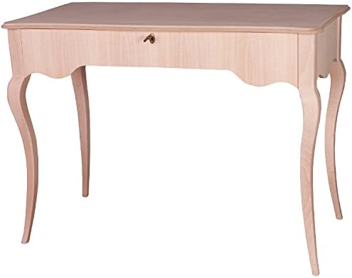 Muebles Natural – Mesa de despacho Modelo Goya, Estilo Chippendale ...