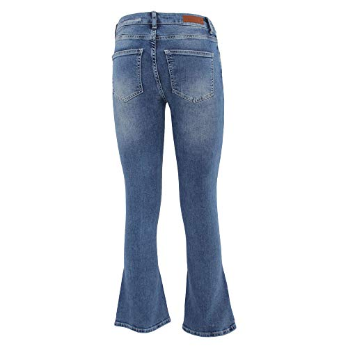 Azul 20665436nd Algodon Jeans Mujer Fiveunits EvxqwgBHH