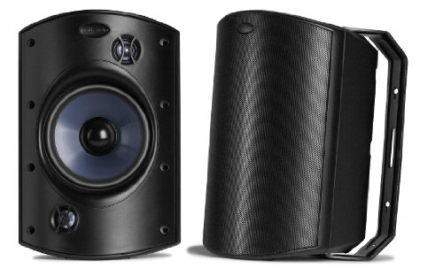 Polk Audio Atrium 8 SDI Speaker (Single, Black) Powersports AM8085-A