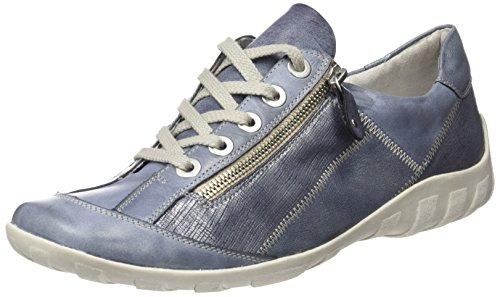 Remonte Women's R3419 Low-Top Sneakers Blue (Jeans/Denim/Denim/Jeans) 100% guaranteed cheap prices authentic discount finishline sale how much lmPkNqIk52