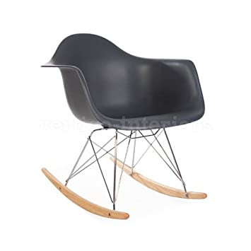 high quality style rocking arm lounge chair grey eames rar replica charles dimensions pink