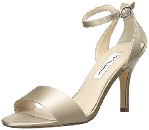 Sandal Women's Champagne Nina Venetia Dress dtxwUq