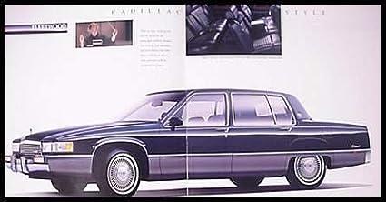 1990 CADILLAC FULL-LINE: ALLANT/É GORGEOUS ORIGINAL !! DE VILLE SEVILLE /& BROUGHAM PRESTIGE COLOR SALES BROCHURE USA FLEETWOOD ELDORADO
