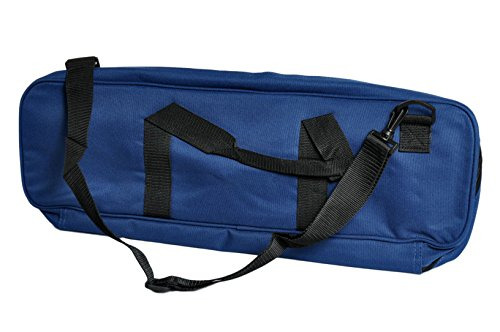 Deluxe Chess Bag - Navy - by US Chess Federation
