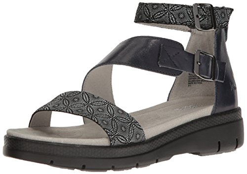 Pictures of Jambu Women's Cape May Wedge Sandal WJ17CPY91 Midnight Print 8.5 M US 1