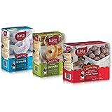 Katz Gluten Free Variety Pack | 1 Glazed Donuts, 1 Powdered Donuts, 1 Glazed Chocolate Donut Holes | Dairy, Nut, Soy and Gluten Free | Kosher (1 Pack of each)