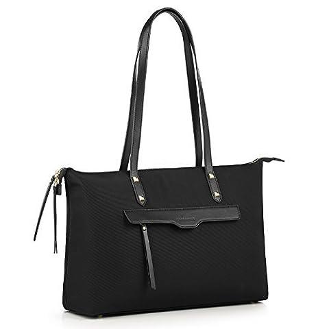 CHICECO Top Zip Tote Bag for Women Work Handbag - 15.6 Inch